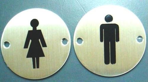 Carteles Para Baño - Hombre - Mujer - Discapacitados
