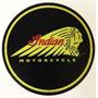 Carteles Antiguos De Chapa Gruesa 50cm Moto Indian Mot-065