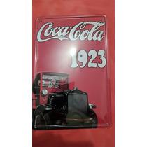 Cartel De Chapa De Coca Cola Importado