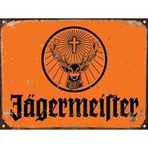 Cartel De Chapa Publicidad Jägermeister B026