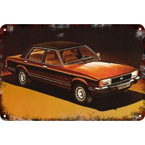 Carteles Antiguos Chapa Gruesa 60x40cm Ford Taunus Au-087