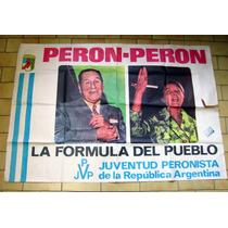 Antiguo Afiche De Calle Perón - Perón. 1973