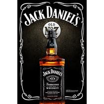 Carteles Antiguos Chapa Gruesa 60x40cm Jack Daniels Dr-080