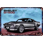 Carteles Antiguos 60x40cm Ford Mustang Shelby Gt500 Au-047