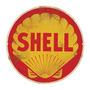 Carteles Antiguos De Chapa Gruesa 50cm Shell Pe-096