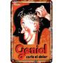 Carteles De Antiguos Chapa 30x45cm Publicidad Geniol Va-001