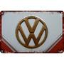 Carteles Antiguos Chapa Gruesa 60x40cm Vw Volkswagen Au-652