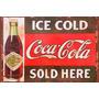 Chapas Vintage Retro No Cuadros 20x30cm Coca Cola Dr-001