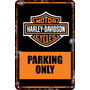 Carteles De Chapa 60x40 Parking Only Harley Davidson Pa-14