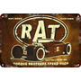 Carteles Antiguos Chapa Gruesa 60x40cm Rat Hot Rod Au-503