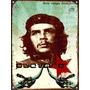 Cartel De Chapa Vintage Che Guevara Revolucion M012