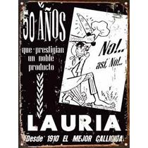 Chapa Publicidad Antigua Callicida Lauria L676