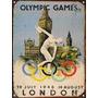 Chapa Publicidad Antigua Juegos Olimpicos Londres 1948 M126