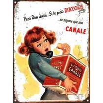 Chapa Vintage Publicidad Antigua Bizcochos Canale L652