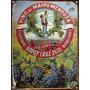 Cartel De Chapa Publicidad Antigua Vino Lopez M591