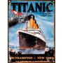 Chapa Vintage Publicidad Antigua Titanic L658