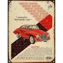Cartel Chapa Publicidad Antigua Dkw Auto Union Y234
