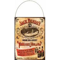 Cartel Chapa Publicidades Antiguas Whisky Jack Daniels L588