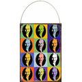 Cartel De Chapa Eva Peron Evita Warhol M814
