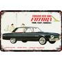 Carteles Antiguos Chapa 60x40cm Ford Falcon Futura Au-065