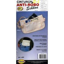 Cinturón Anti-robo Porta Valores 2 En 1 - Schkon