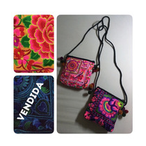 Cartera Bordada Hippie Chic Tailandesa