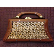 Espectacular Cartera Rigida Retro Antigua Dl 60 Envio Gratis