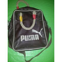 Morral Puma Cuero