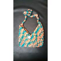 Carteras Tejidas A Mano Crochet Diseños Únicos