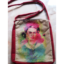 Bandoleras Carteras De Gamuza *mafalda, Frida ,mandalas*