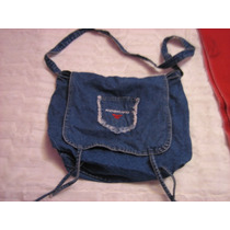 Espectacular Morral De Jean !!!!