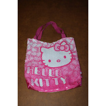 Cartera Hello Kitty Con Lentejuelas