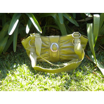Cartera Verde Acido Renzo Rainero