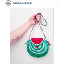 Carterita Crochet Sandia