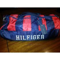 Bolso Tommy Hilfiger Full Stripped Bordado - Original Usa -