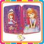 Cartucheras Princesita Sofia 1 Piso Tapa De Lata Mundomanias