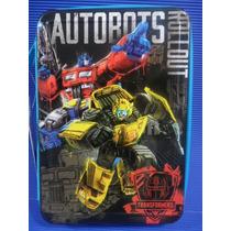 Cartuchera 2 Pisos Transformers Original