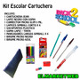 Kit / Set / Combo Escolar Cartuchera Primaria / Secundaria