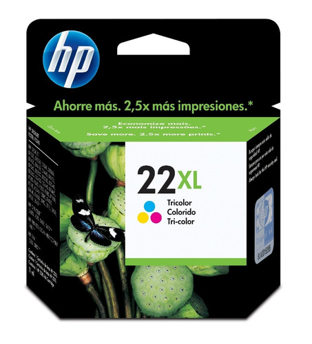 Cartucho Hp 21xl + Hp 22xl Combo Originales Alto Rendimiento
