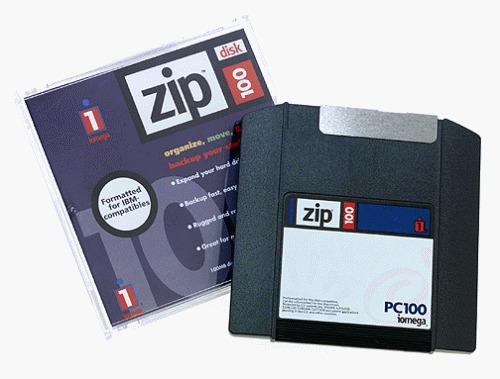 """El """"clic de la muerte"""" que terminó con las unidades Zip de"""