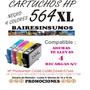 Cartuchos Hp 564 564xl Nvos Genericos Rinde X3 + Recarga S/c