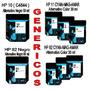 Cartuchos Alternativos Hp # 10 # 11 # 82 Negro Y Colores