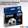 Cartucho Epson 135 Negro Original