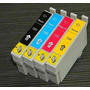 4 Cartuchos Para Epson Tx235 Tx420 Tx320 Alternativo Premium