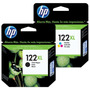 Combo Cartucho Hp 122xl Negro+color Original Ch563hl Ch564hl