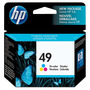 Cartucho Hp 49 Tri-color 51649a Inkjet Para 600/693 Original
