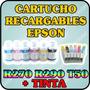 Cartuchos Recargables Para Epson T50 T270 T290 Con Tinta