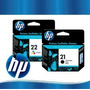 Cartucho Hp 21 + Hp 22 Originales100%. Computers Depot!!!