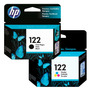 Combo Cartuchos Original Hp 122 Negro Color Ch561hl Ch562hl
