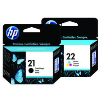 Cartucho Hp 21+ Hp 22 C9351al+c9352al Originales Negro+color